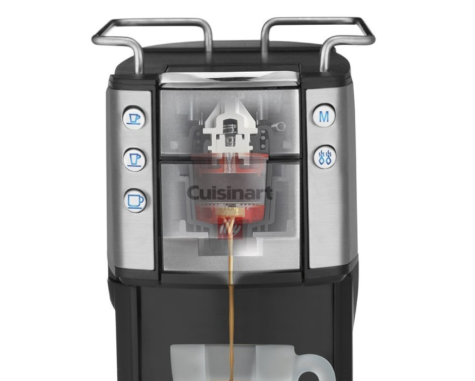 Cuisinart Coffee Maker Illy : USD 239 for Cuisinart for Illy EM-400C Single Serve Espresso and Coffee Machine Buytopia
