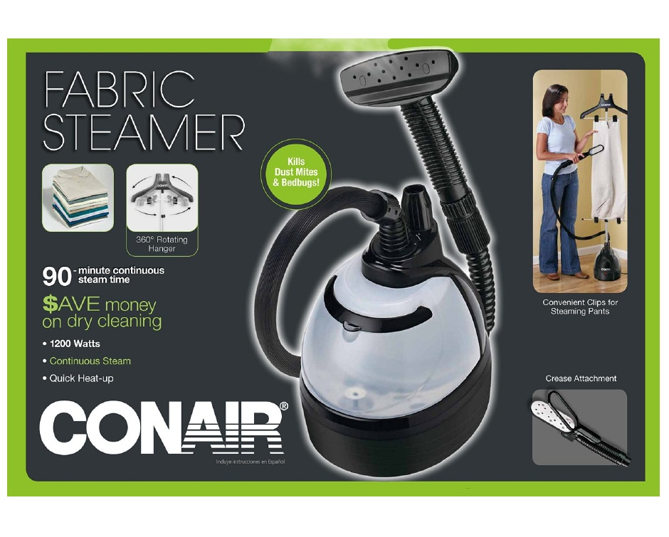 49 For Conair Gs100 Deluxe Fabric Steamer Buytopia