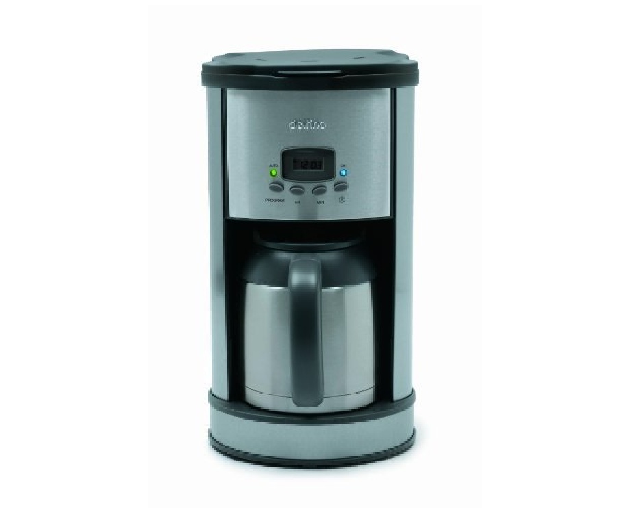 Delfino Coffee Maker Replacement Carafe : USD 35 for the Delfino 8-Cup Programmable Coffee Maker Buytopia