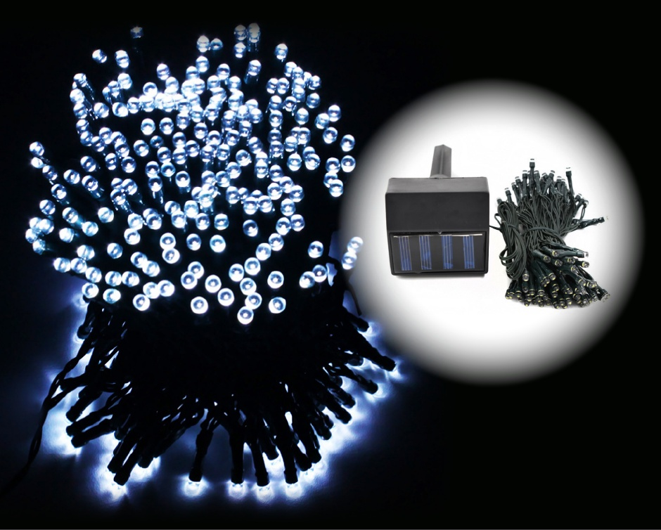 USD 10 for a 17 Metres Long String of Solar Fairy Lights with 100 LEDs Buytopia