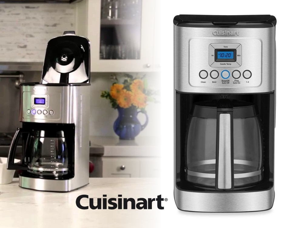 K Cup Coffee Maker Deals : USD 39 for a Cuisinart 14-Cup Programmable Coffee Maker Buytopia