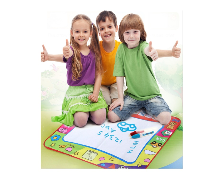$13.84 For A Magic Doodle Mat With Two Doodle Pens